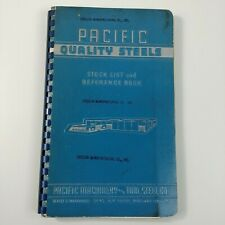 Pacific Quality Steel Stock List Reference Pacific Machinery Tool Steel Portland