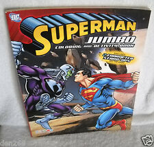 #8954 Superman Jumbo Coloring & Activity Book
