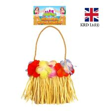 Lei Hula Bag Adult Hawaiian Fancy Dress Costume Beach Luau Hen Party Ladies UK