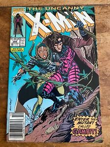 Uncanny X-Men #266 Marvel 1st appearance Gambit NEWSSTAND 1990 COMB SHIPPING v