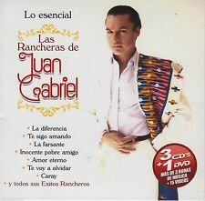 Lo Esencial Las Rancheras De Juan Gabriel 3 CD's 1 DVD SEALED NOW SHIPPING !