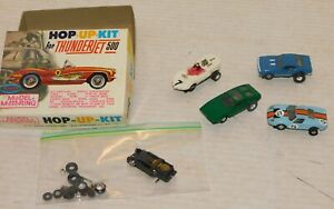 Vintage Aurora 1960's Slot Car Lot Thunderjet T-jet All Working Camaro & 3 more