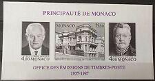 MONACO - BF N°39a - BLOC FEUILLET NEUF NON DENTELE - 1987