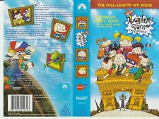 Vhs *Rugrats in Paris - The Movie* 2000 Paramount Home Entertainment Australasia