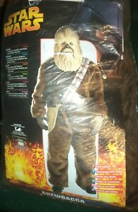 STAR WARS CHEWBACCA ADULT DELUXE COMPLETE FANCY DRESS OUTFIT COSTUME RUBIES