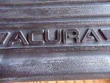 2001-03 ACURA CL OEM # 08P13-S3M-201  BLACK RUBBER FLOOR MATS 2 PCS. FRONTS
