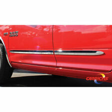 2009-2018 Dodge Ram 1500 Crew Cab Chrome Side Door Body Molding Trim 2""