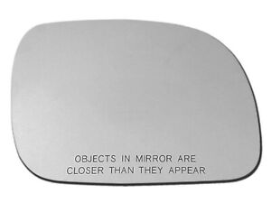 For 1996-2007 CARAVAN TOWN & COUNTRY VOYAGER Mirror Glass W/ Pads Passenger Side