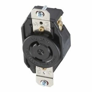 Hubbell Industrial Twist Turn Locking Receptacle Outlet L6-20R 20A 250V L620RZ