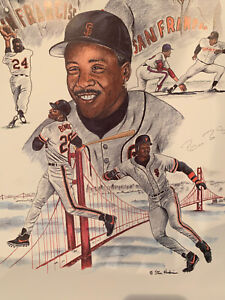 The Pride of San Francisco bobby bonds, barry bonds, willie mays sigs JSA COA