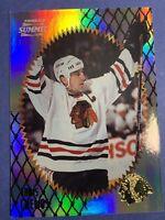 1996-97 Pinnacle Summit Premium Stock Rainbow #43 Chris Chelios Chicago BH