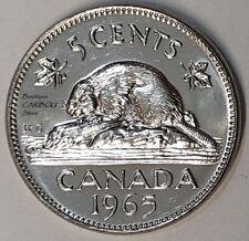 1965 Canada 5 Cents BU