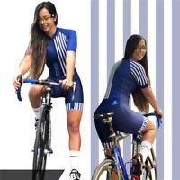 Pro Team Triathlon Suit Women's mtb Cycling Jersey Skinsuit Jumpsuit
