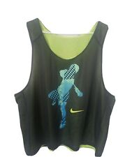 Nike Lacrosse Practice Jersey New Shirt Team Athletic Electric Green Large L/Xl
