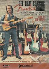 Get That Classic Fender Sound with Jim Weider - 2003 Homespun DVD & tab book