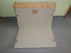 New OEM 2005-2007 Ford Freestyle Rear Seat Back Cover Trim Panel Beige Carpet