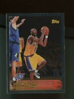 1996-97 Topps #138 NBA 50th Foil Kobe Bryant RC Rookie Lakers HOF