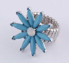 Modeschmuck-Ringe im Statement-Stil mit Strass