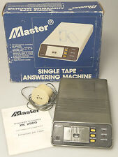 (PRL) SEGRETERIA TELEFONICA MASTER XK 2800 SINGLE TAPE ANSWERING MACHINE