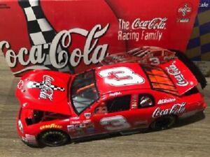 DALE EARNHARDT 1998 COKE COCA COLA 1/24 ACTION DIECAST CAR #3 RED JAPAN RACE CAR