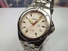 Tissot watch 1853 pr 200 Gentleman Date steel quartz men's watch
