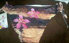 String bikini Banana Split Brand XL 2 Piece Colors: Brown, Sand & Hot Pink