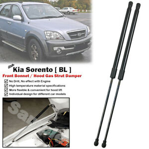 Front Bonnet Lift Gas Shock Strut Damper For Kia Sorento 2.4 3.3 3.5 2002-2009