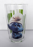 RARE SMURF SCHTROUMPF ANGRY Smurf Movie Glass 2011 MINT IN BOX