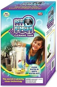 My Fun Fish Cleaning Tank Self Cleaning Aquarium **NEW**