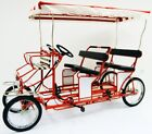 Four Person Surrey Cycle - 4 Wheel Surrey Bike - 4 Person Bicycle - Quadricycle