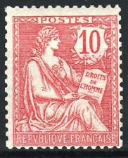 "FRANCE STAMP TIMBRE 124 "" MOUCHON RETOUCHE 10c ROSE "" NEUF xx LUXE  M576"