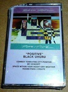 Black Uhuru - Positive / MC / 1987 / OVP Sealed / RAS / Reggae Cassette Tape BB