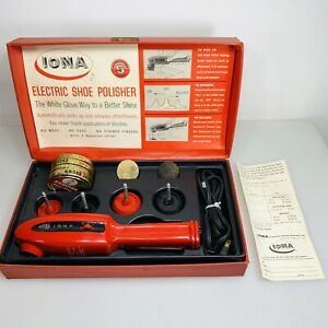 1967 Iona Electric Shoe Polisher AKA Ghostbusters PKE Meter With Replacement Sht