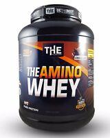 THE AMINO WHEY 2300g (21,70€/kg) Eiweiß Shake für Masse & Muskelaufbau Protein
