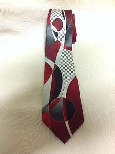 Stacy Adams Men's Necktie  Jazz Age Retro 100% Silk