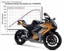2009-2015 GSXR 1000 Two Brothers Carbon Fiber Full Exhaust 2011 2012 2013 2014