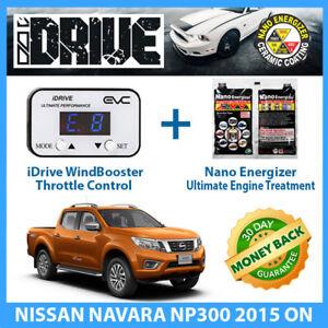 IDRIVE THROTTLE CONTROL for NISSAN NAVARA NP300 2015 on + NANO ENERGIZER AIO