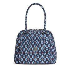 Vera Bradley Turnlock Satchel Purse Shoulder Bag Marrakesh Motifs