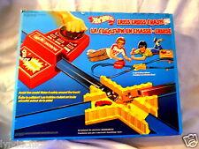 Vintage 1978 Hot Wheels Car CRISS CROSS CRASH Race Track Playset Retro Race Set