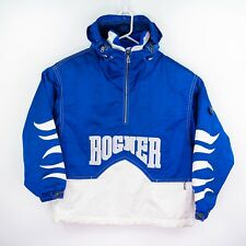 Bogner Retro SKI Snowboard Winter Snow Jacket Coat Unisex Size Medium Blue White
