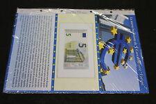 ABAFIL EURO PAPER MONEY aggiornamento x nuova BANCONOTA da 5 EURO EYPO BCE ECB