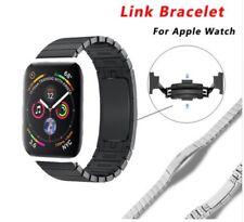 For Apple Watch 2 3 4 5 38/42mm 1:1 Link bracelet Removeable Metal Buckle Strap