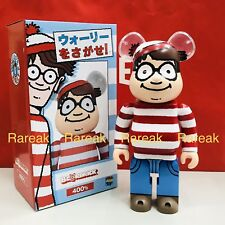Medicom Be@rbrick Wally Waldo 400% Where's Wally Bearbrick
