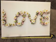 large canvas Love pictures used 70 X 40 Inch