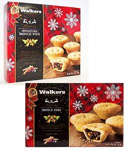 Walkers Shortbread Mince Pies Mincemeat Christmas Treat