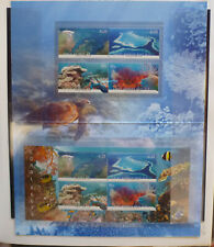 2013 AUSTRALIA CORAL REEFS 8 STAMP STAMP PACK MINT STAMPS