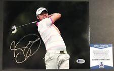 CHAMPIONSHIP WINNER! Jason Day Masters PGA Signed GOLF 8x10 Photo #1 Beckett BAS
