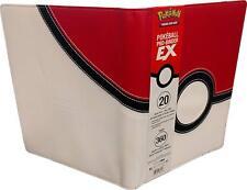 Ultra PRO - Pokémon Poké Ball 9-Pocket PRO Binder Album 9 tasche - NUOVO #NSF3