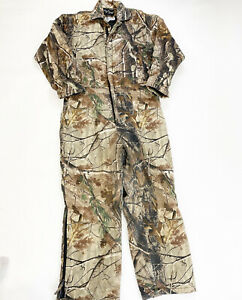 Real Tree Insulated Coveralls Men's Size Large