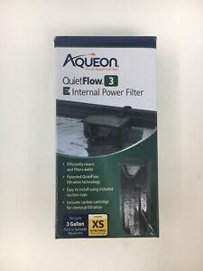 """Open Box - Never Used"" - Aqueon Quietflow 3 E Internal Power Filter"
